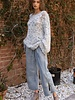 Distressed Knitted Sweater