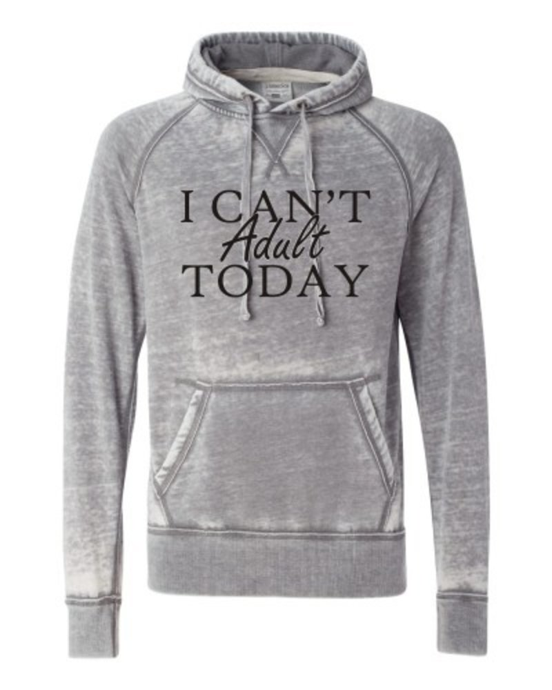 Ocean & 7th I Can't Adult Today Hoodie