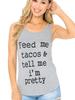 S & A Feed Me Tacos Tank