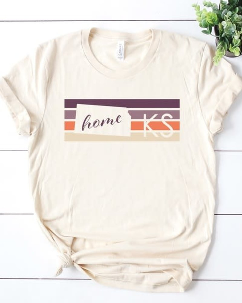 Canvas Kansas Home Tee