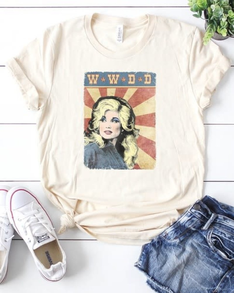 Canvas What Would Dolly Do Tee