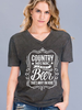 Cotton Heritage Country Music and Beer Tee