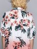 Hawaiian Print Button Down
