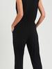 Ee:some V-Neck Sleeveless Jumpsuit