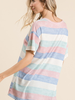 Viamor Striped Thermal Tee