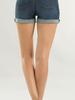 KanCan Hazel High Rise Button Down Shorts