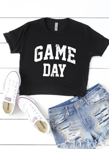 Next Level Game Day Cropped Tee