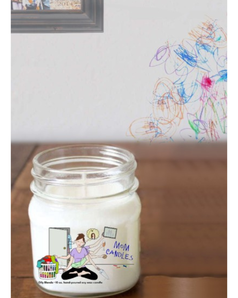 Oily Blends Mom Candle