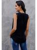 Shiying Fashion V-Neck Eyelash Lace Tank