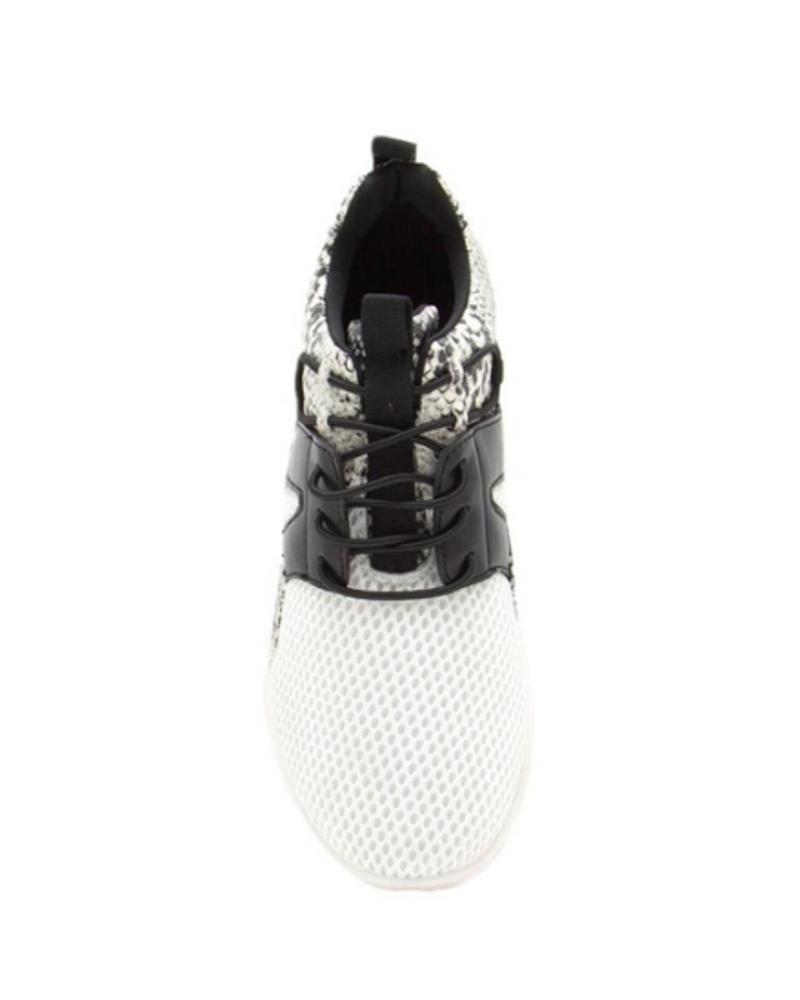 Lace Up Slip On Sneaker