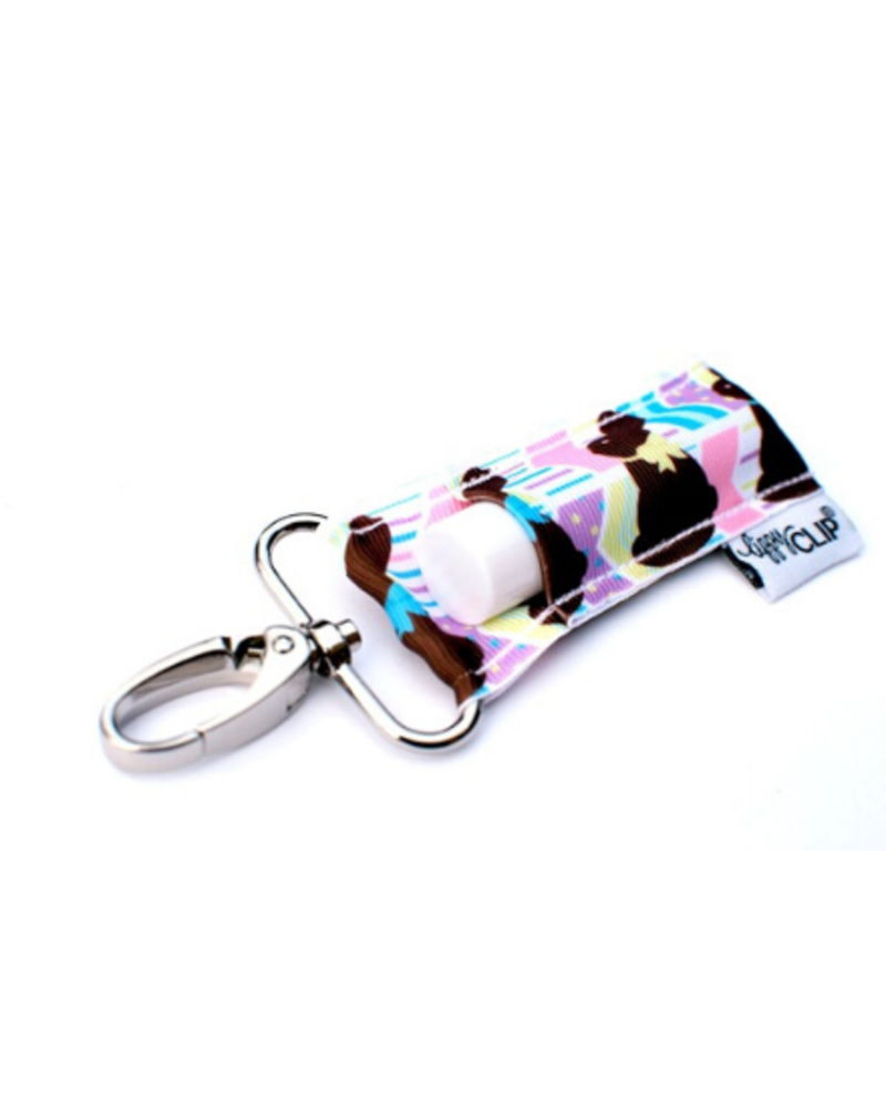 Lippy Clip Lip Balm Holder Keychain