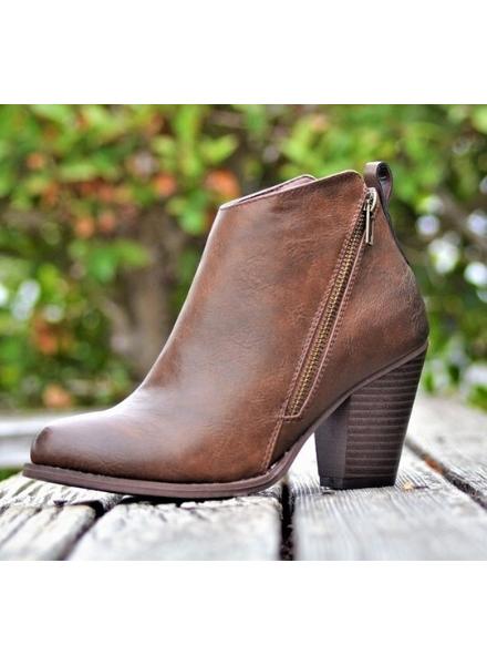 Mata Shoes Vegan Diagonal Dual Zipper
