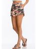 CY Fashion Camo Print Knit Shorts