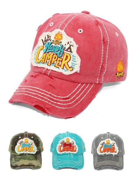 4350 District Happy Camper Vintage Cap
