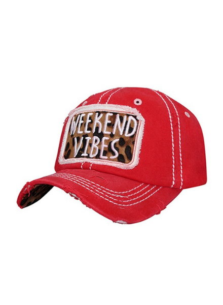 4350 District Weekend Vibes Washed Cap