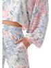 Follow Me Apparel Tie Dye LS Crop Top and Jogger Set