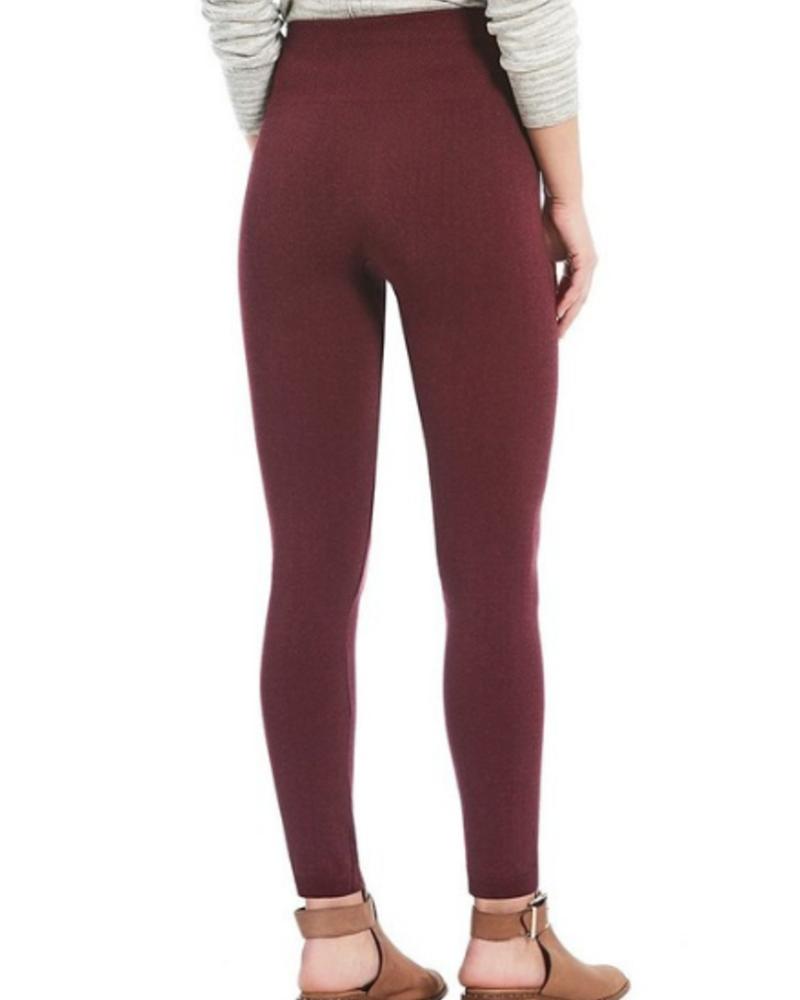 Fornia Fleece Lined Space Dye Leggings