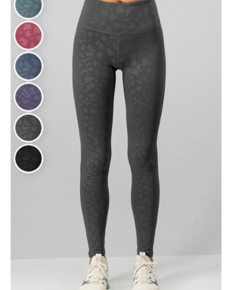 Urban Daizy High Waist Leopard Print Leggings