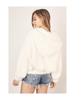 Mustard Seed Faux Fur Full-Zip Hooded Jacket w/Pockets