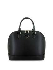 Lany Dome Satchel w/Detachable Crossbody Strap