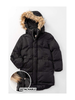 Coutudi Puffer Coat w/Detachable Faux Fur Trimmed Hood