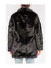 Rehab Lab Oversized Faux Fur Coat w/Pockets