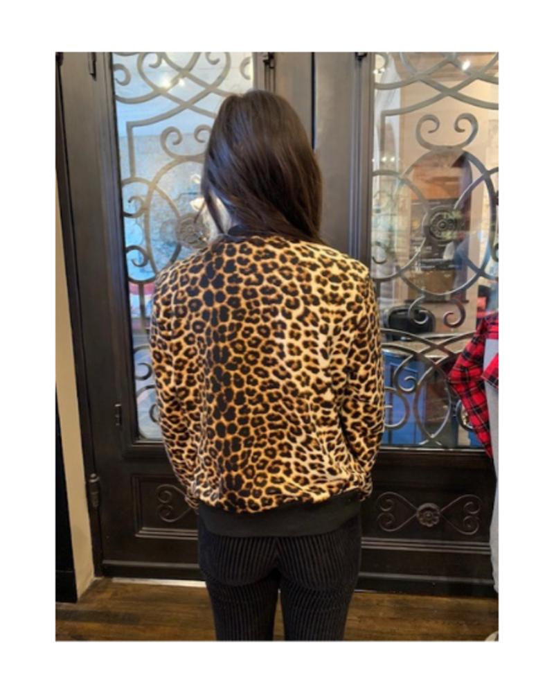 Mazik Leopard Bomber Jacket