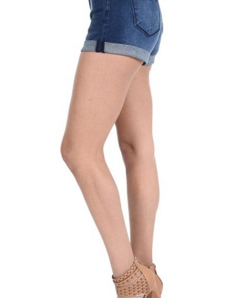 Kan Can Kan Can Denim - Dark Cuffed Shorts