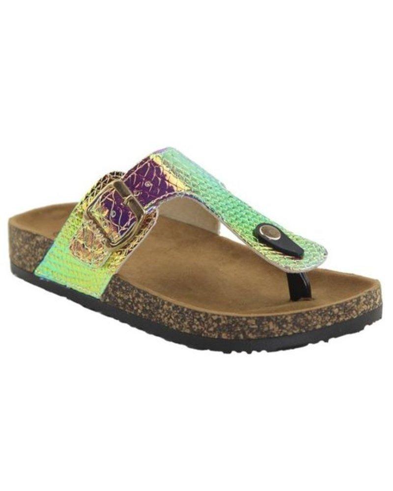 """Unicorn"" Multi color sandal -"