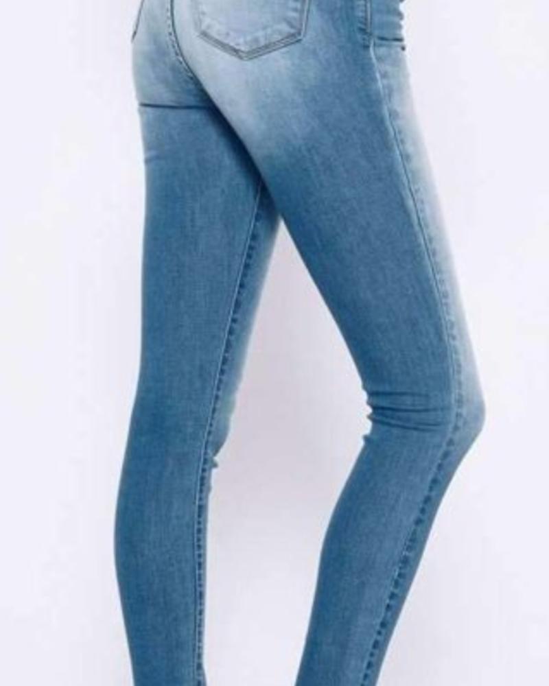 Kan Can Kan Can- Joy Adalyn Light Wash Skinny Jean