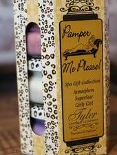 3.4 oz Pamper Me Please! Candle Gift Set