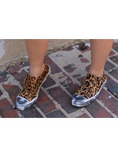 Naughty Monkey Shalomar Leopard Tennis Shoe -