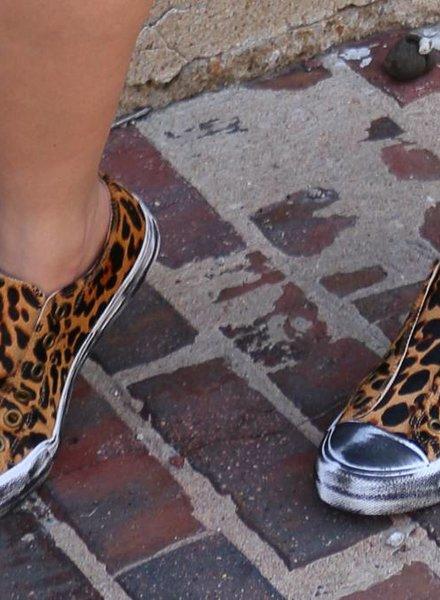Naughty Monkey Shalomar Leopard Tennis Shoe -