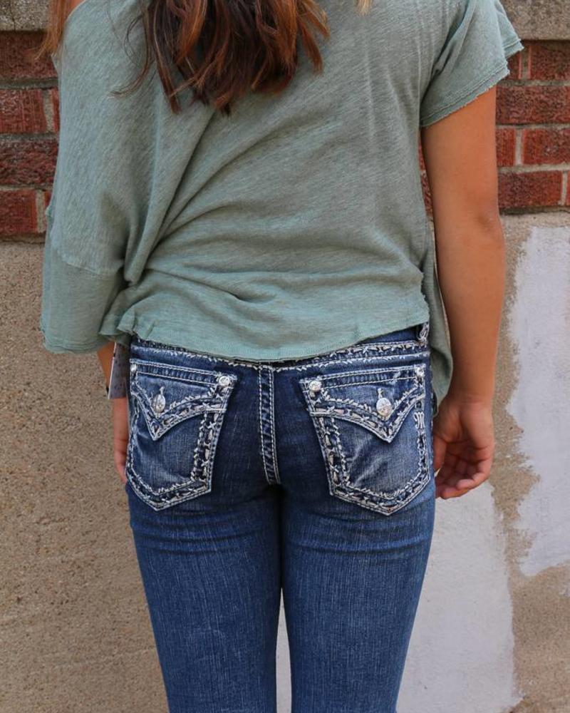 Miss Me Miss Me Mid-Rise Boot Cut Jean