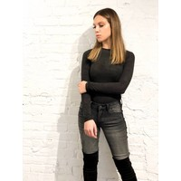 Camila Faux Suede Bodysuit