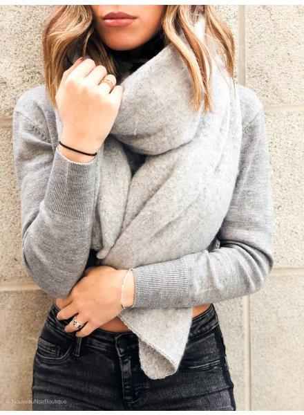 Nouveau Noir Lima Knit Scarf
