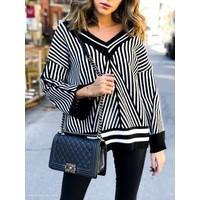 Drew Asymmetrical Hem Sweater