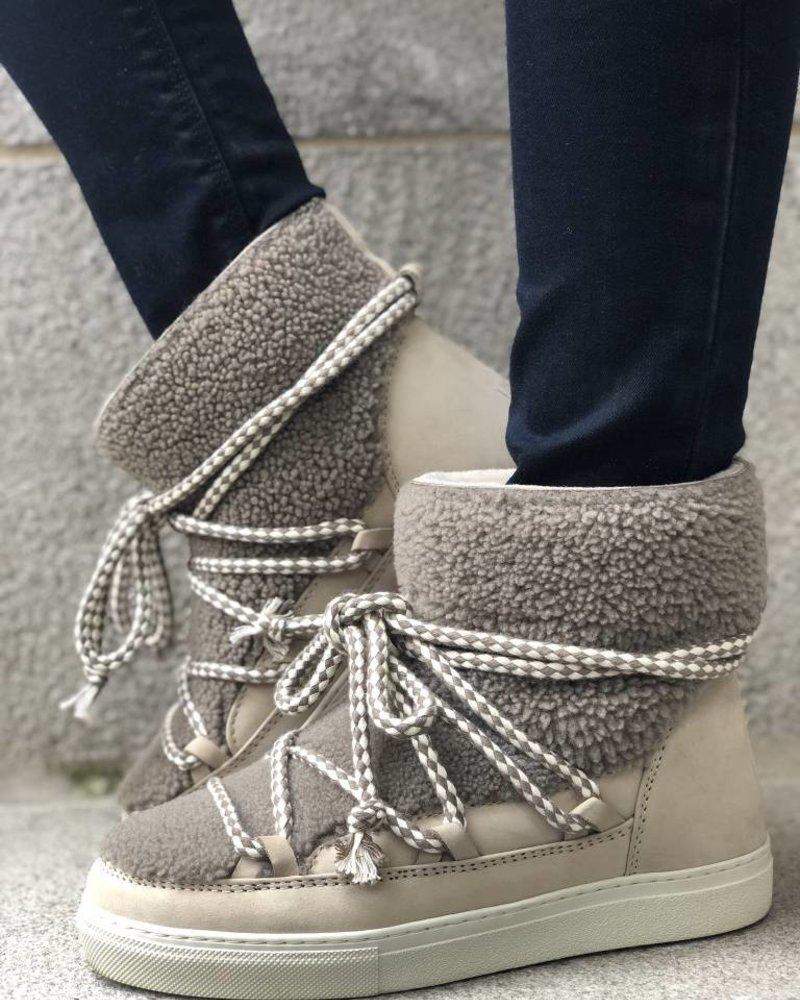 INUIKII Curly Sneaker Taupe