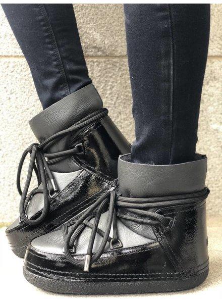 INUIKII Gloss Boot Black