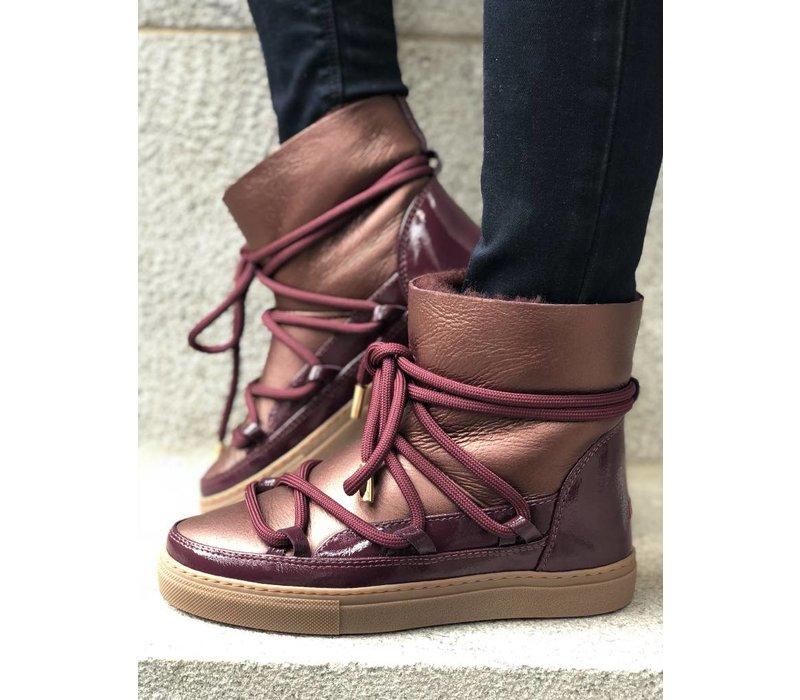 INUIKII Gloss Sneaker Melanzana