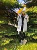 Nouveau Noir Fairy Long Wool Coat