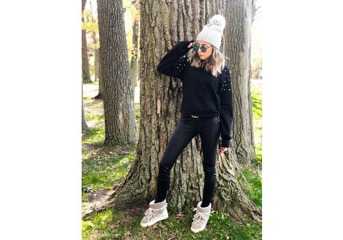 Nouveau Noir Minna Sweatshirt Black