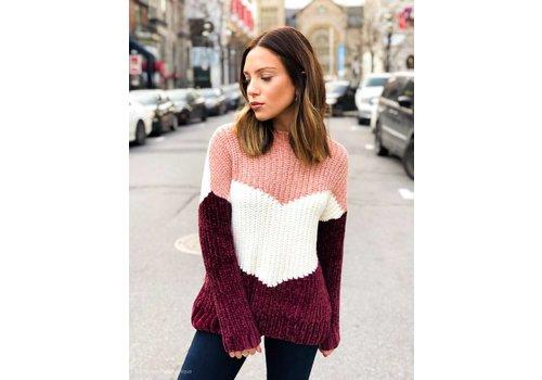 Nouveau Noir Aliza Pullover Knit Misty Rose