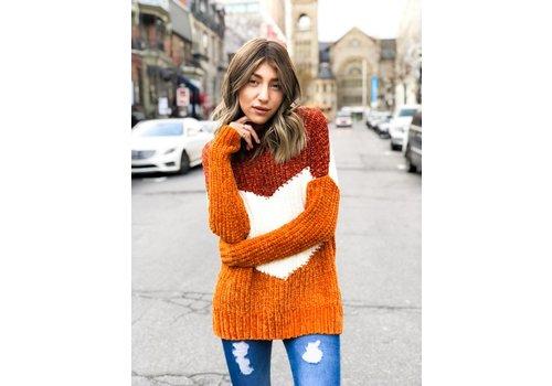 Nouveau Noir Aliza Pullover Knit Picante