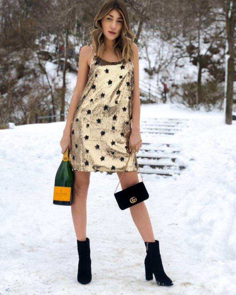 Nouveau Noir Shooting Star Dress
