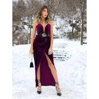 Gianna Gown Plum