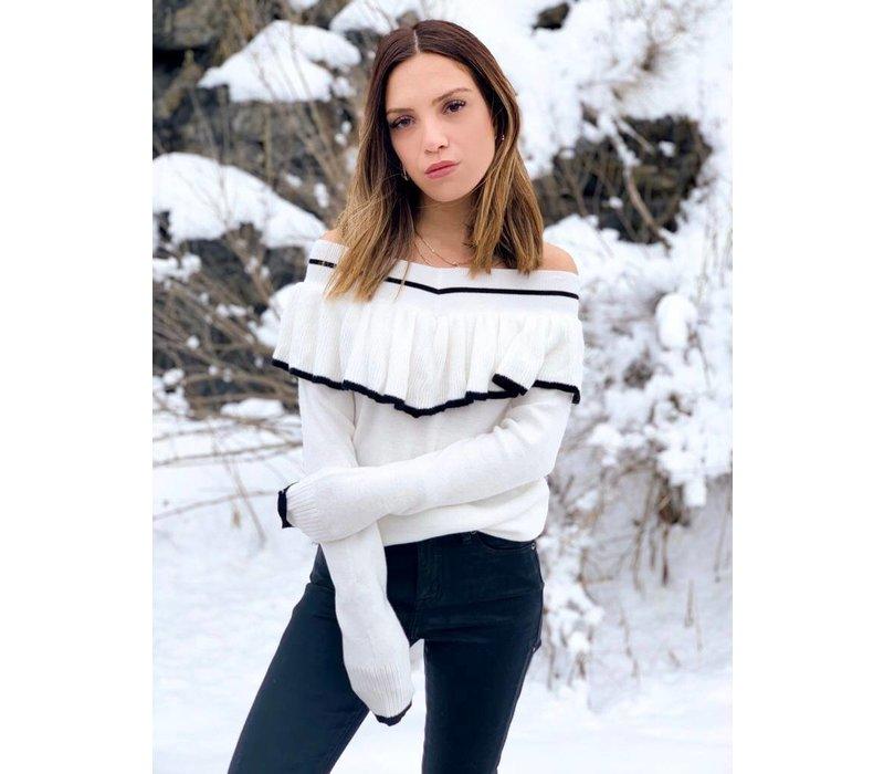 Amerie Ruffle Sweater