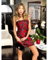 Finders Keepers Voyager Mini Dress Red Rose