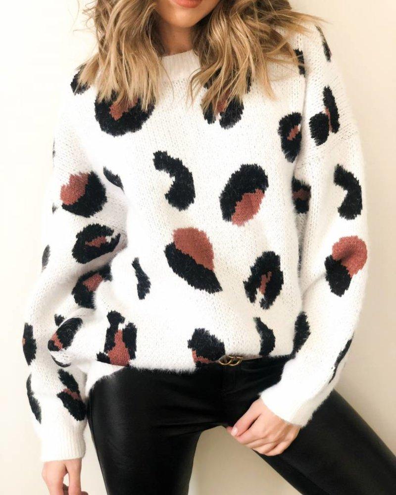 Nouveau Noir Spot On Sweater