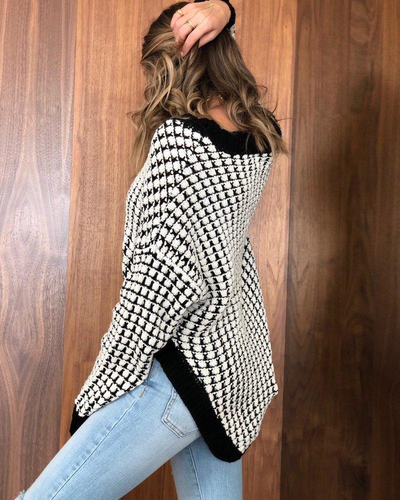 Nouveau Noir Zoe Sweater